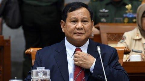 LIPSUS WAKIL PANGLIMA, Menteri Pertahanan Prabowo Subianto
