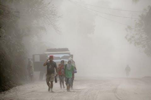 Dampak letusan Gunung Taal di Filipina